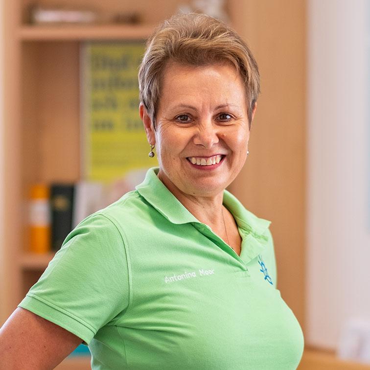 Antonia Moor Hausarztpraxis Lehmann